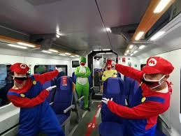 Viaggia con Super Mario Lego e Trenitalia