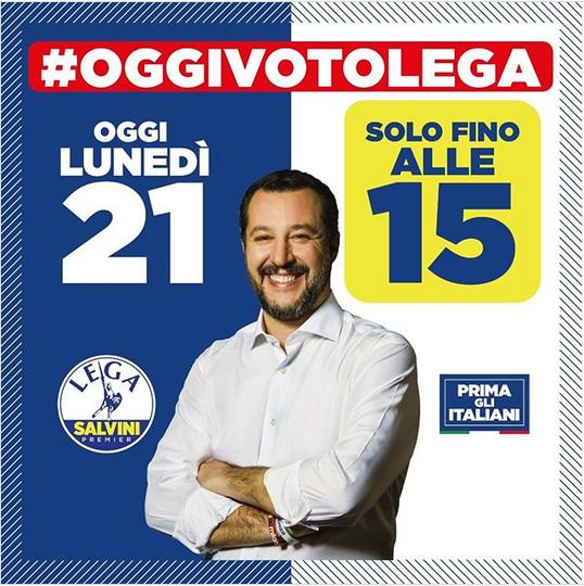 instagram Matteo Salvini