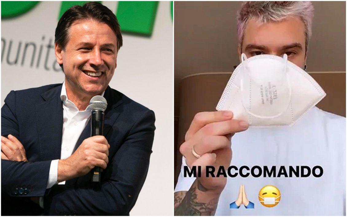 Conte chiama Fedez e Chiara Ferragni