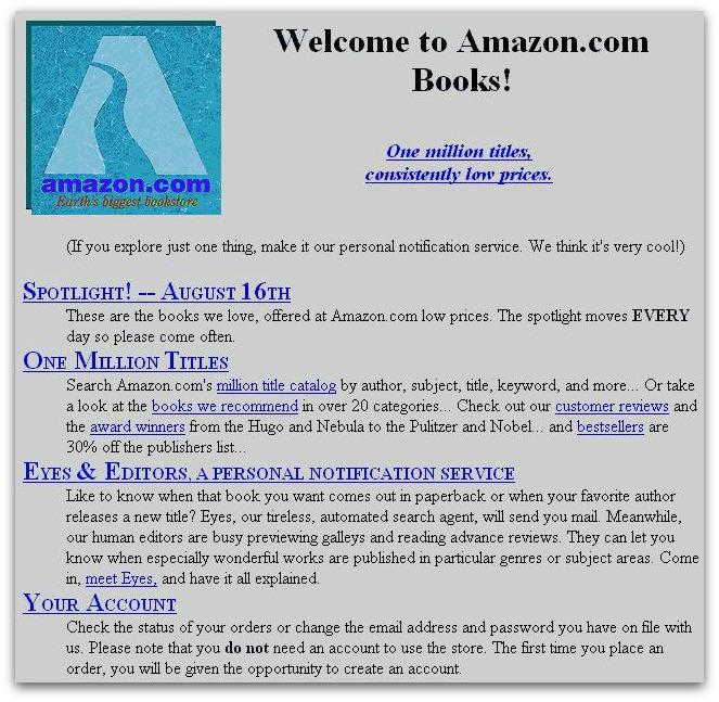 primo sito Amazon